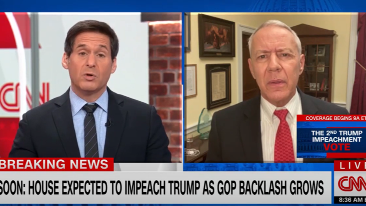 GOP lawmaker goes down in flames on CNN after claiming 'both sides' are to blame for Capitol invasion