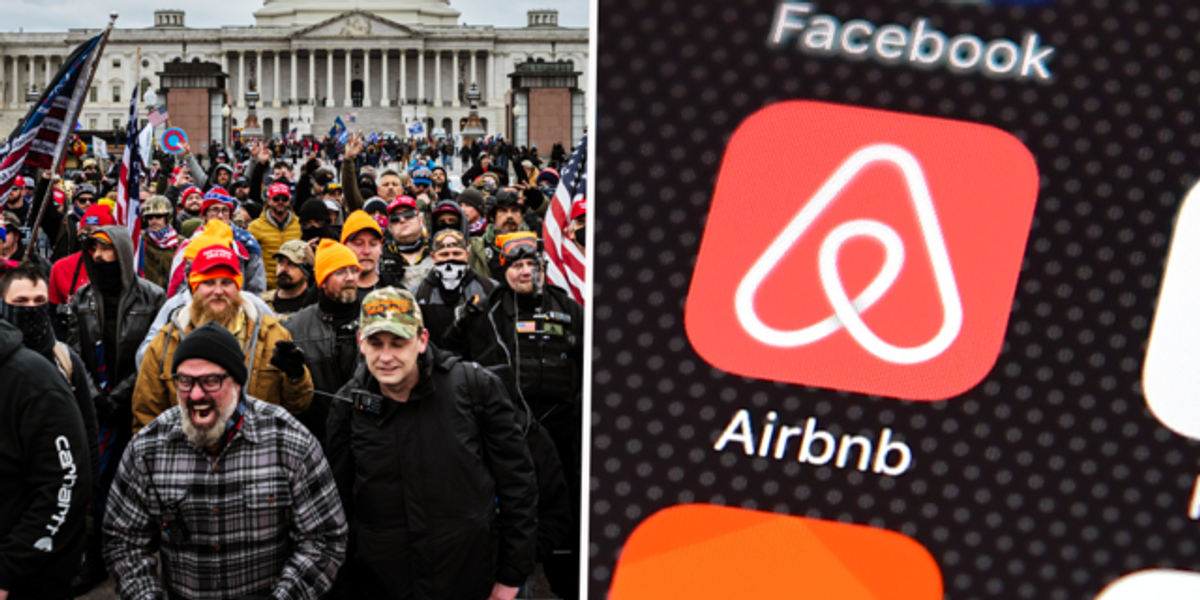 Airbnb Is Banning Anyone Who Took Part in the Storming of the US Capitol