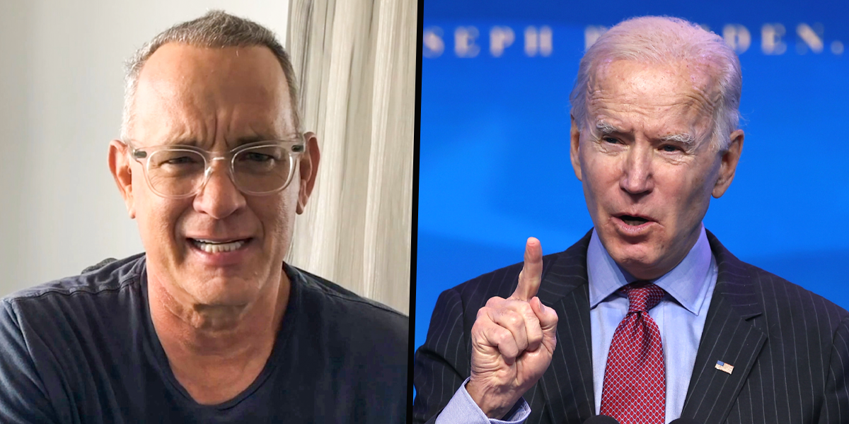 Tom Hanks To Host Joe Biden Inaugural TV Special 'Celebrating America'