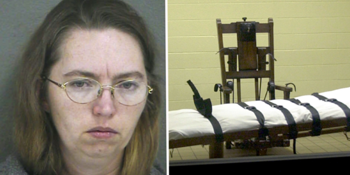 Woman Executed on Death Row Gives Defiant Final Act