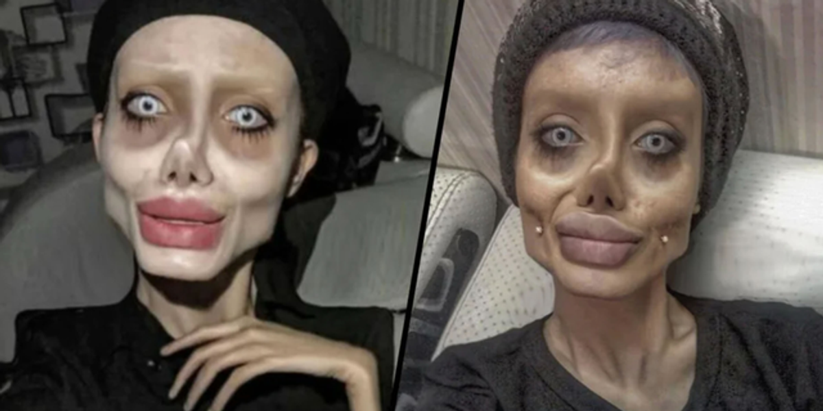 'Zombie Angelina Jolie' Finally Reacts To Her Viral Photos and Cruel Trolls