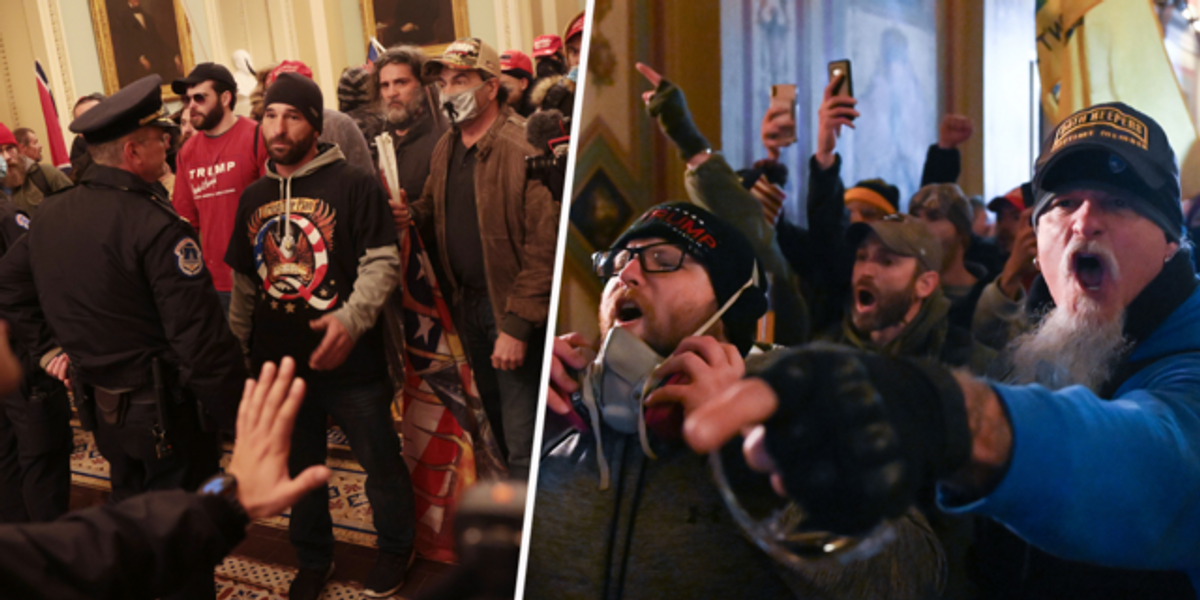 Capitol Rioter's Found Text Messages Are Incredibly Disturbing