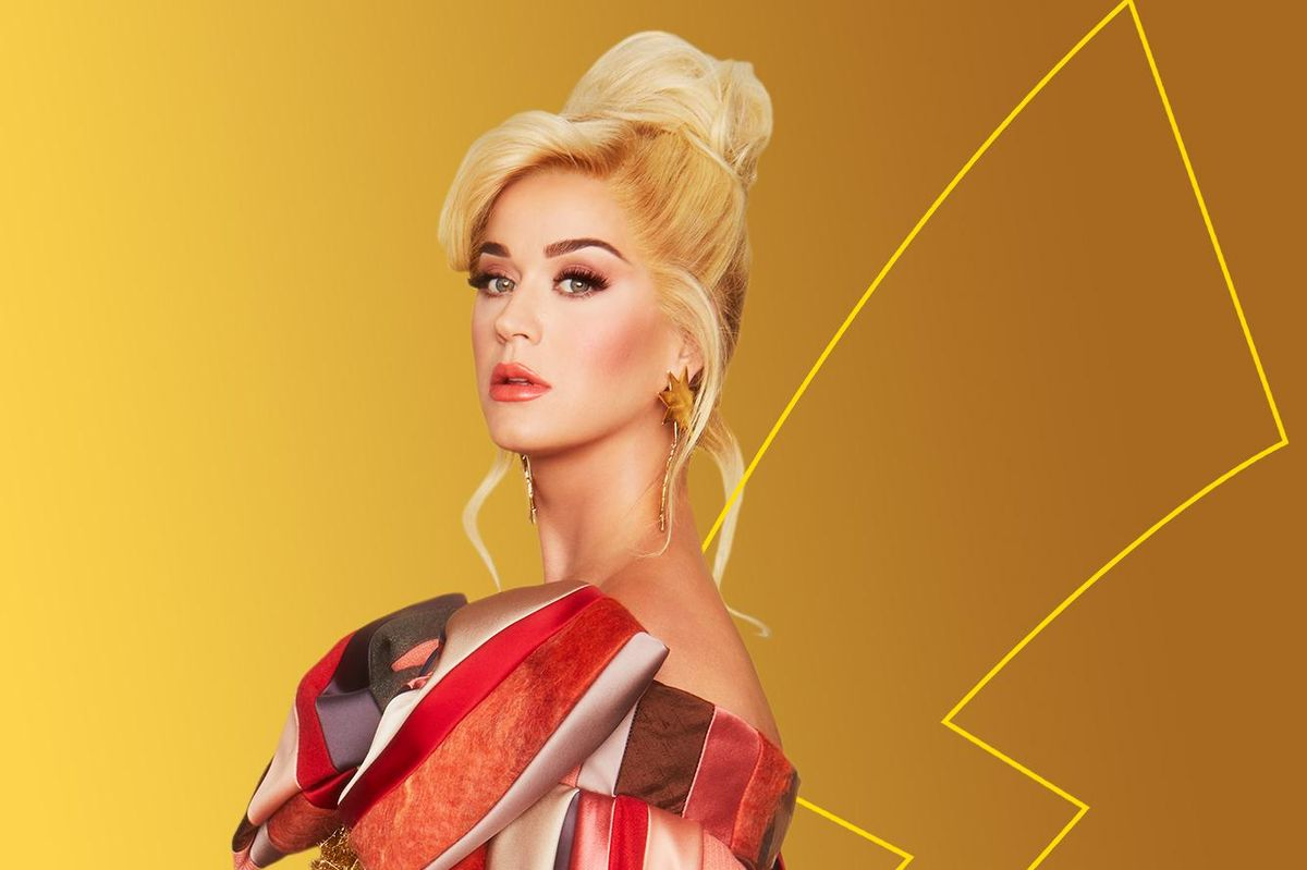 Katy Perry Is the New Face of Pokémon