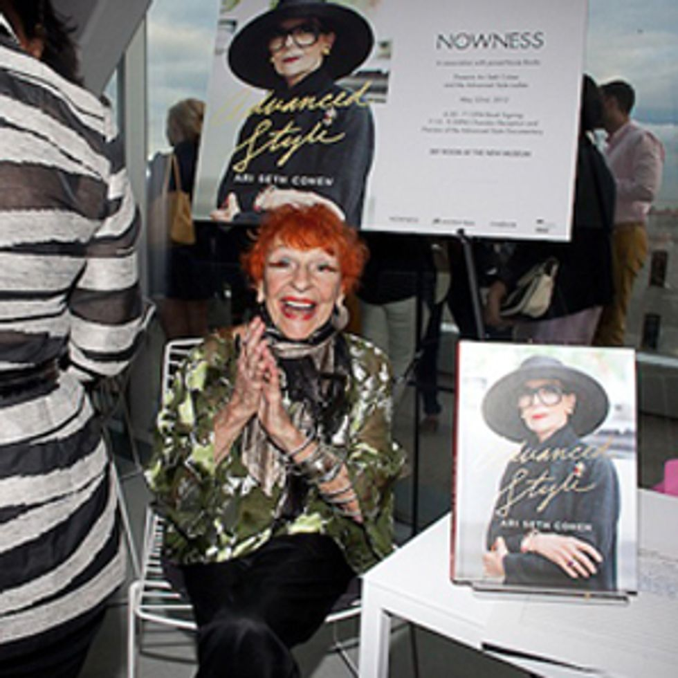 Scenes From the  Advanced Style  Book Launch