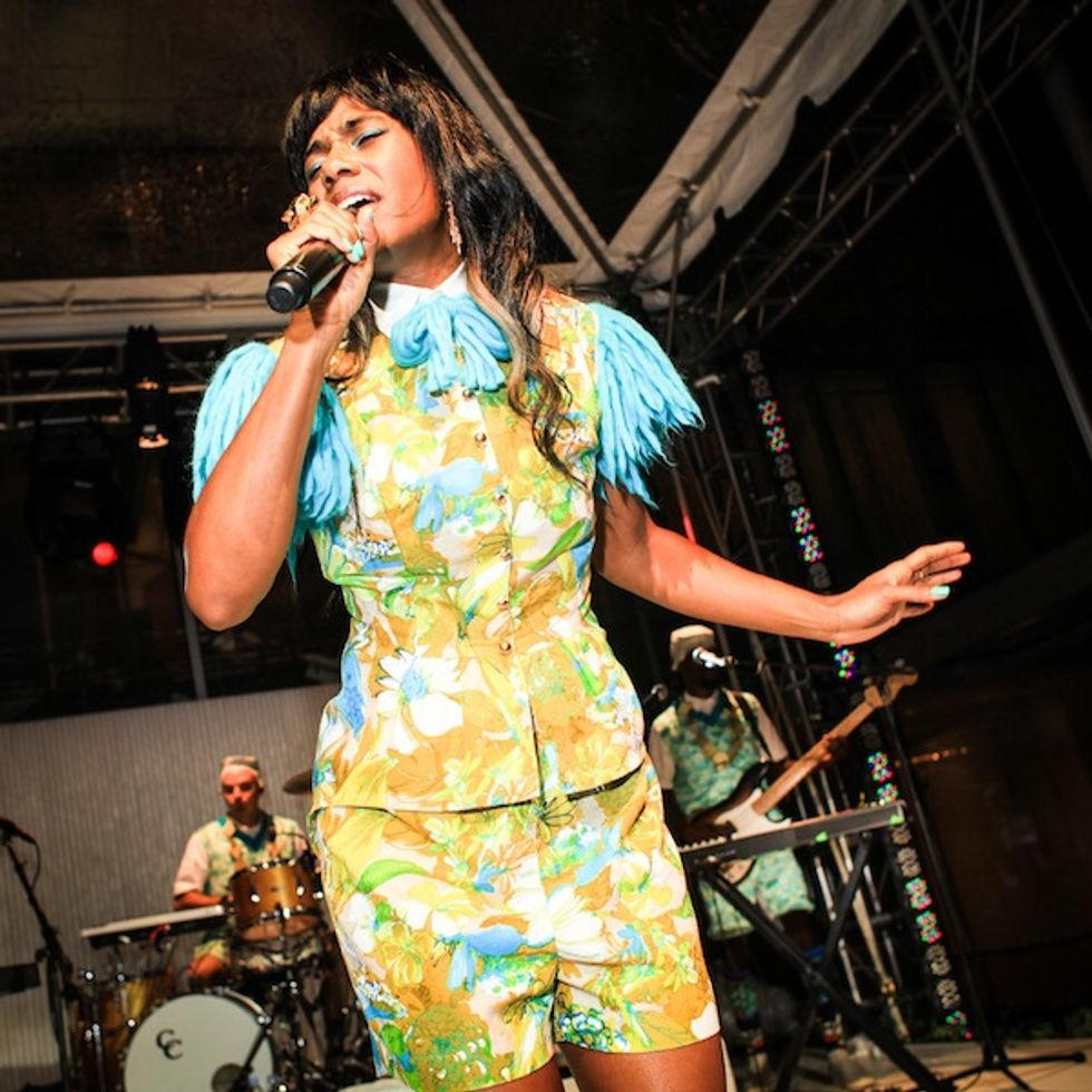 MoMA Parties in the Garden With Santigold