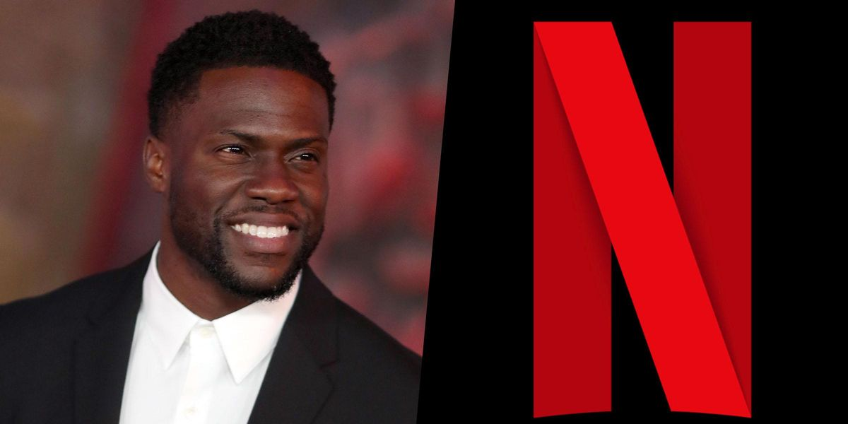 Kevin Hart Signs a Huge 4-Movie Deal With Netflix