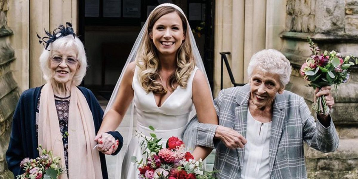 Woman Asks Both Her Grandmothers To Be Her Bridesmaids After COVID Cancels Original Wedding Plans