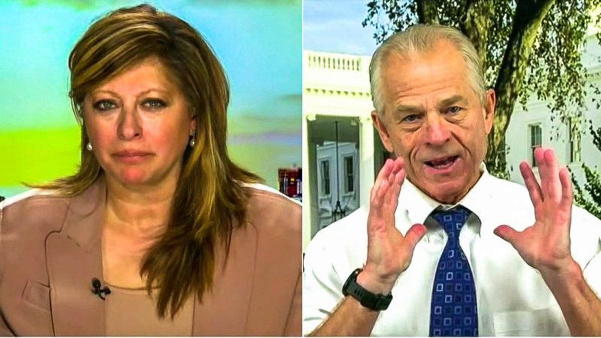 Peter Navarro says impeachment 'did violence' to Trump: 'Let the man leave peacefully with his dignity'