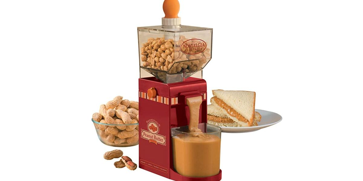 Amazon Is Now Selling a Peanut Butter Maker