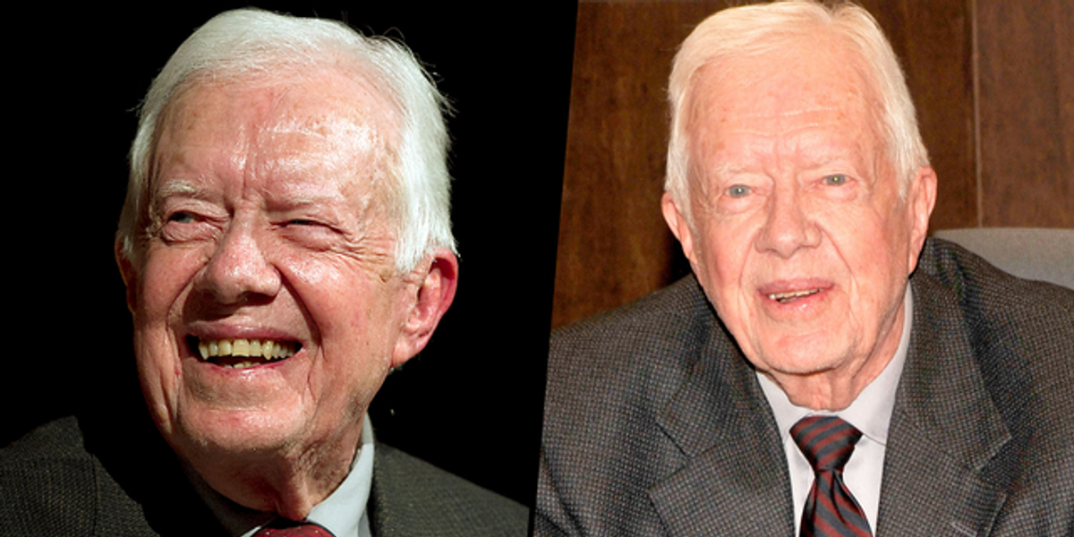 Former President Jimmy Carter Lives in $167,000 House and Shops at Dollar General