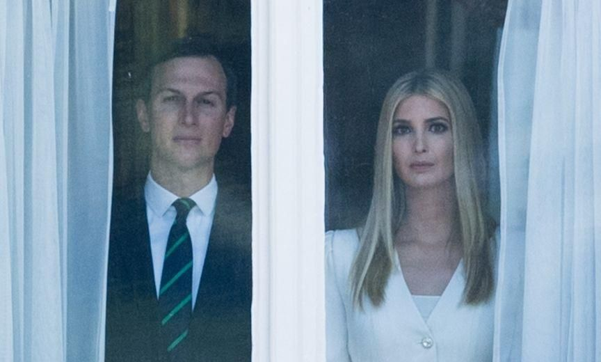 Jared & Ivanka Slammed for Making Secret Service Spend $3k a Month to Rent a Bathroom Instead of Letting Them Use Theirs