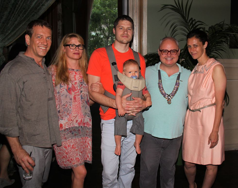 Scenes from Mr. Mickey's Citta Benefit at the SoHo Grand Hotel