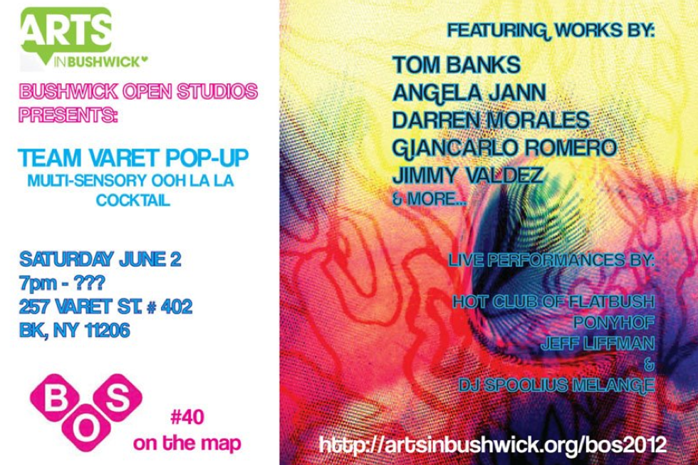 A Few Bushwick Open Studios Shows We'll Be Checking Out This Weekend