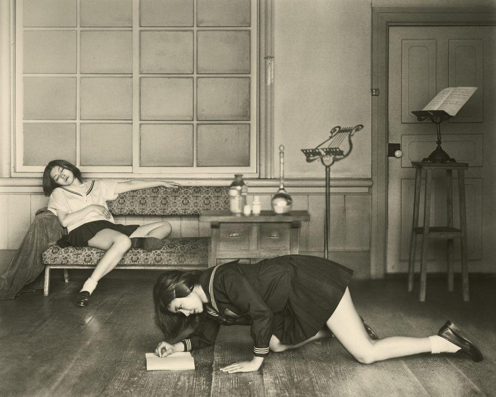 Dreamy and Sensuous Balthus-Inspired Photographs by Japanese Photographer Hisaji Hara