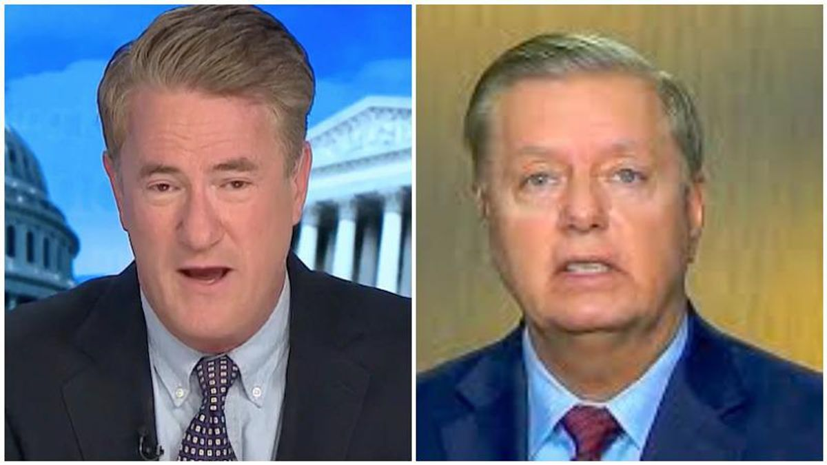 MSNBC's Morning Joe trashes Lindsey Graham for bowing to Trump's 'fascist' supporters
