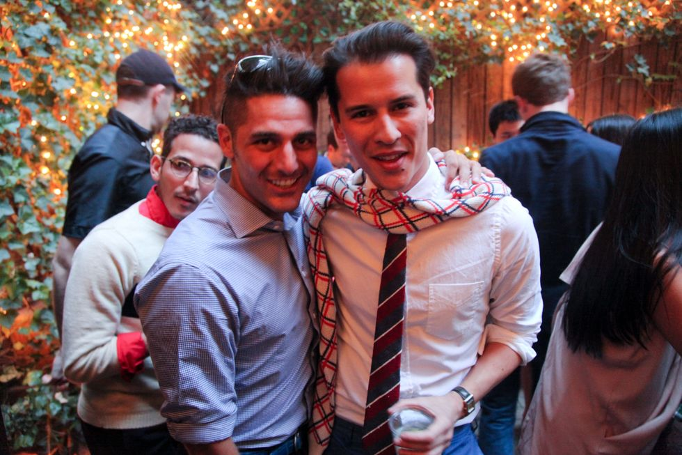 Scenes From PAPER and GANT's Summer Style Party