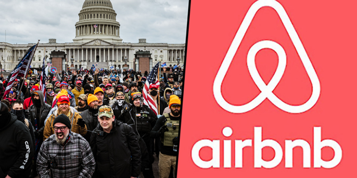 Airbnb Host Outs His Guests for Storming US Capitol