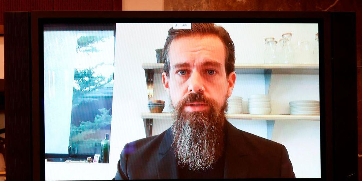 www.theblaze.com: Leaked video: Jack Dorsey says Twitter's ban of Trump is 'bigger than one account' and will 'go on beyond inauguration'