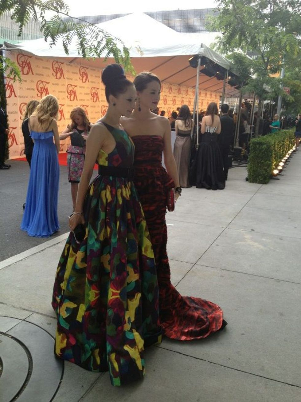 The CFDA Awards: Our Favorite Twit-Pics Thus Far