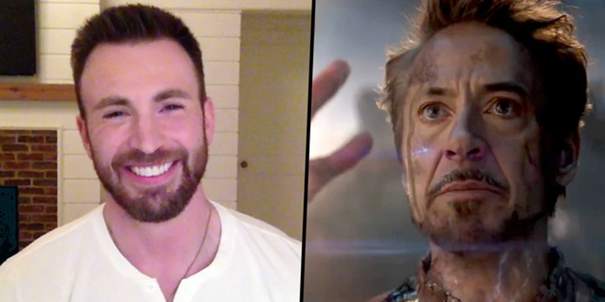 Chris Evans Said He Cried 3 Times Watching the First Hour of 'Avengers: Endgame'