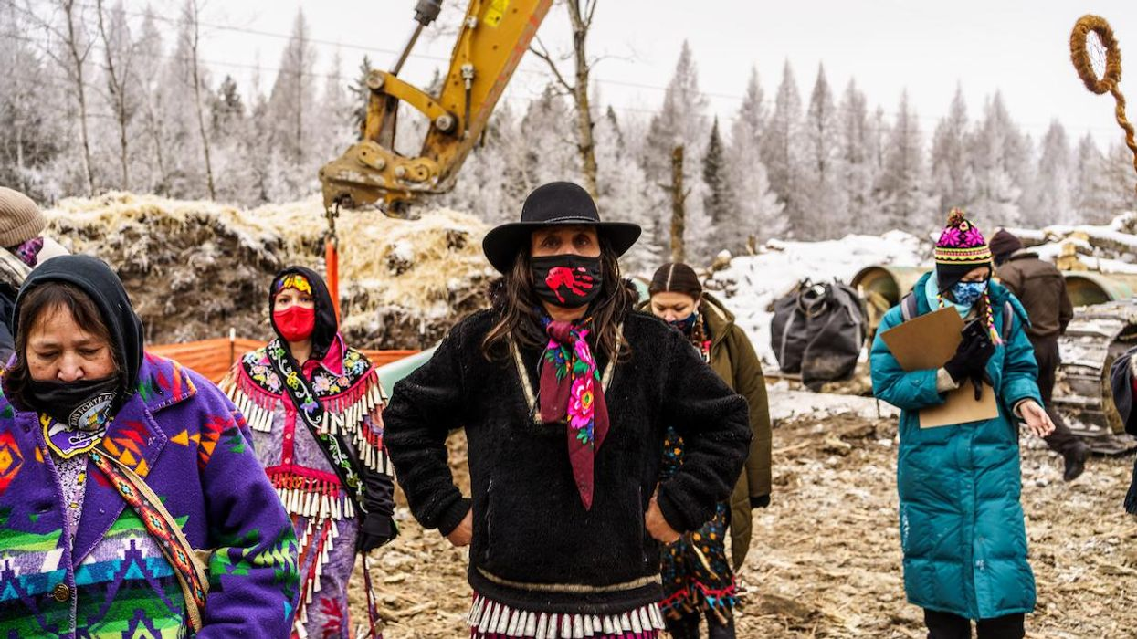 Water Protectors Arrested in Minnesota After Chaining Themselves Inside Enbridge Line 3 Pipe