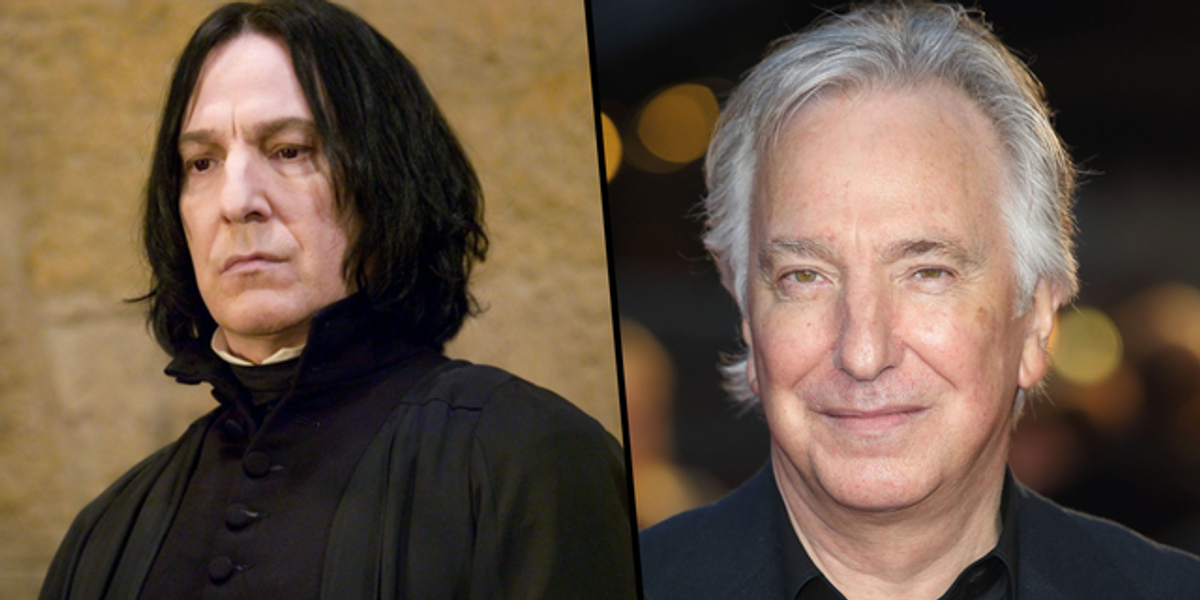 Alan Rickman Used To Surprise Friends by Using His 'Harry Potter' Fortune To Pay for Their Meals