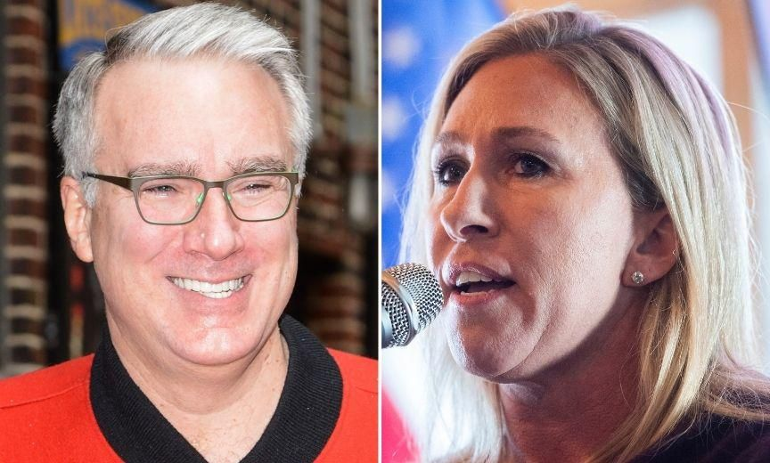 QAnon Congresswoman Tried to Sic the FBI on Keith Olbermann and He Shut Her All the Way Down
