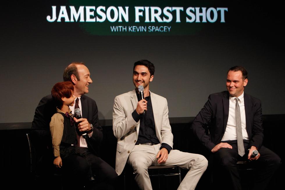 Kevin Spacey, Benjamin Leavitt and Dana Brunetti On Their Short Film, The Ventriloquist