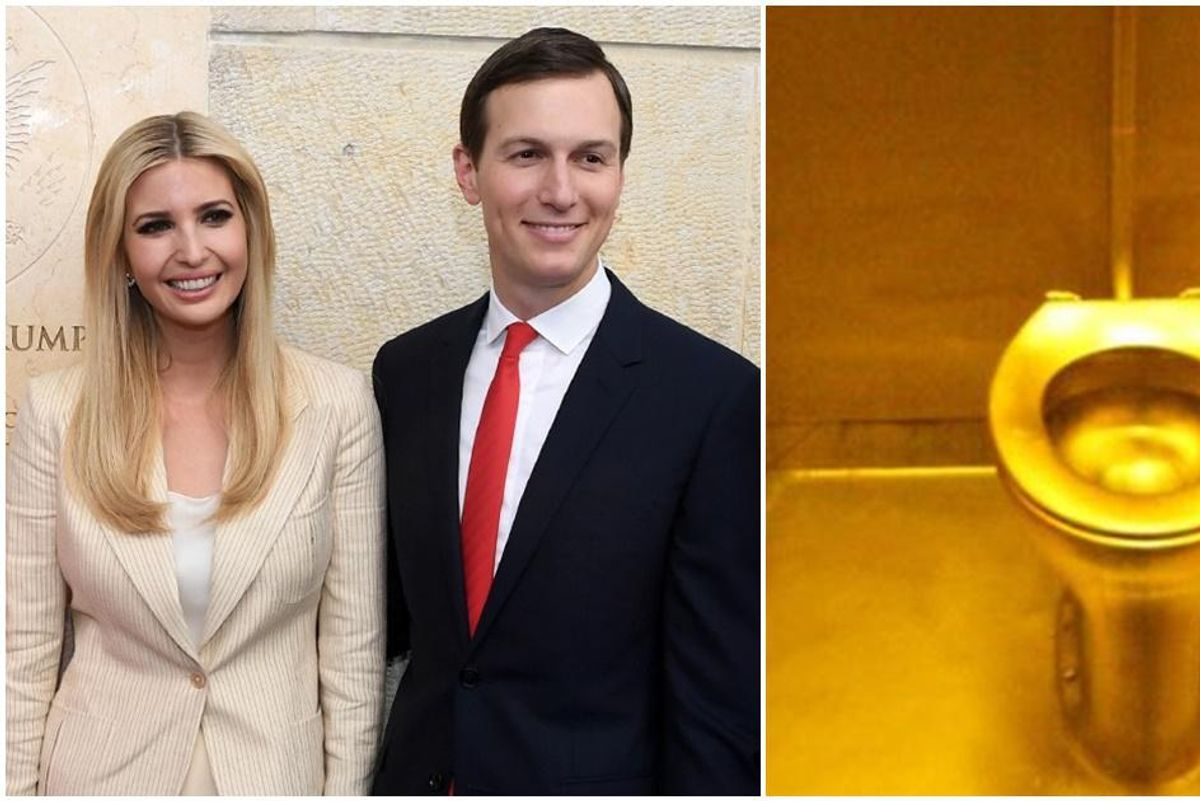Jared Kushner and Ivanka Trump refused to let the Secret Service use any of their 6 bathrooms