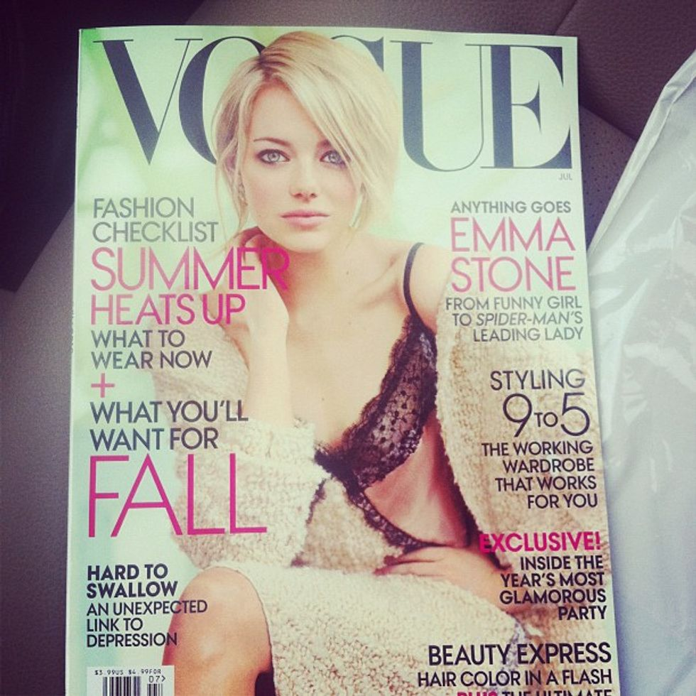 Terence Koh's Cat Models for United Bamboo + Emma Stone on the Cover of Vogue in Today's Style Scraps