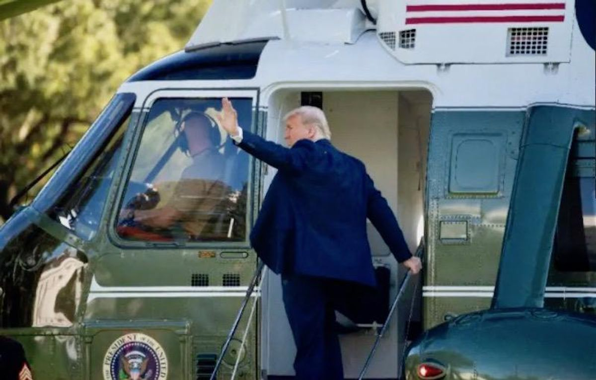 Trump to flee DC early Wednesday before Biden inauguration