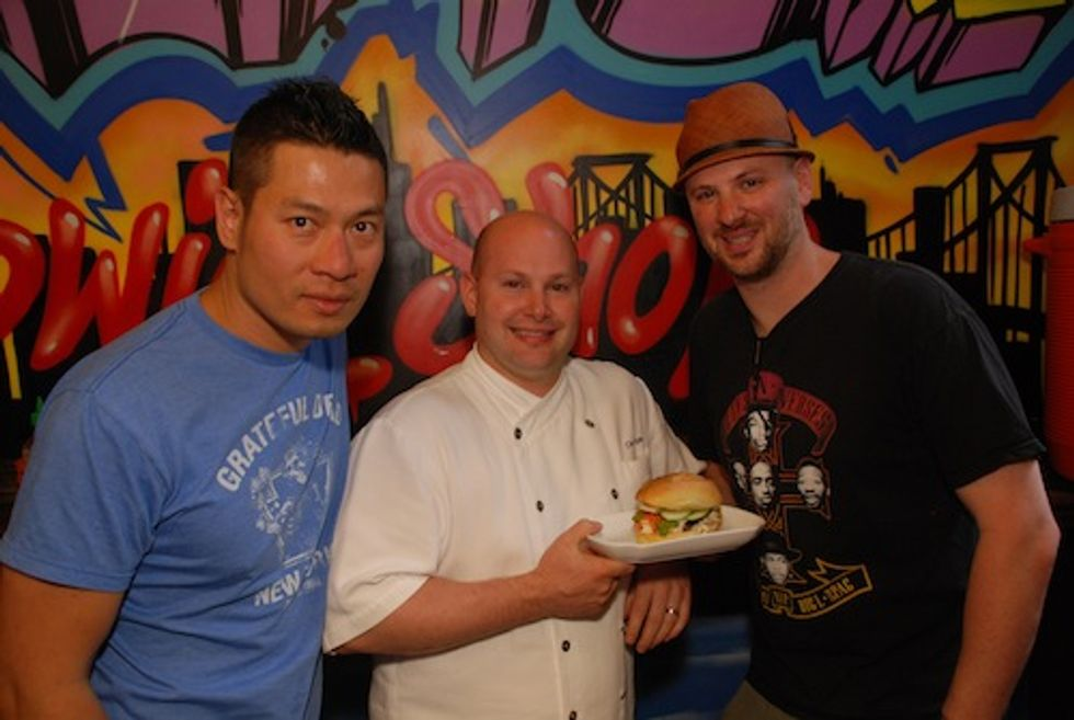 The Num Pang Dudes and ABC Kitchen's Dan Kluger on Collaborating Over a Sold-Out Chicken Sandwich
