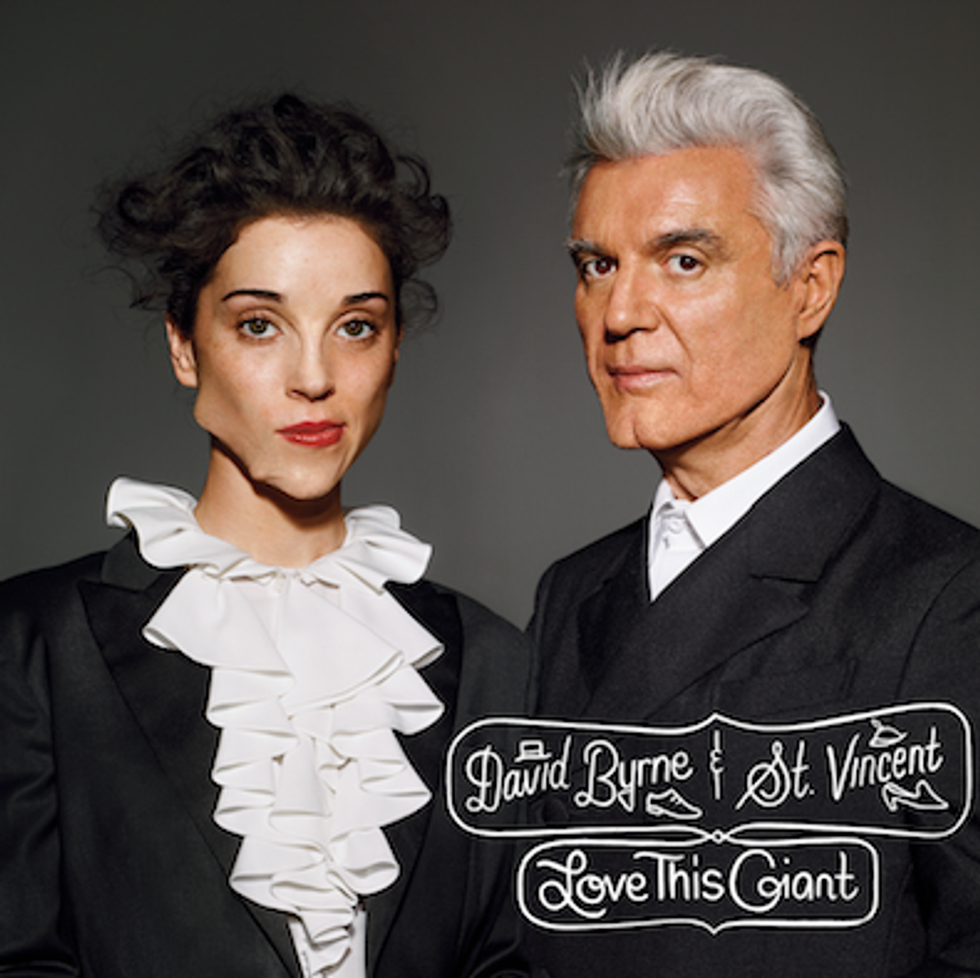 What Is Going On With This Picture of St. Vincent and David Byrne?
