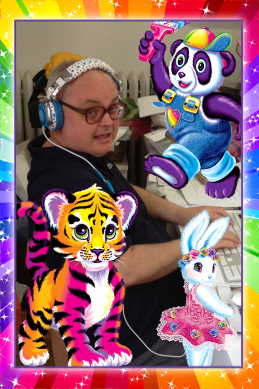 May We Introduce You to the Lisa Frank iPhone App?