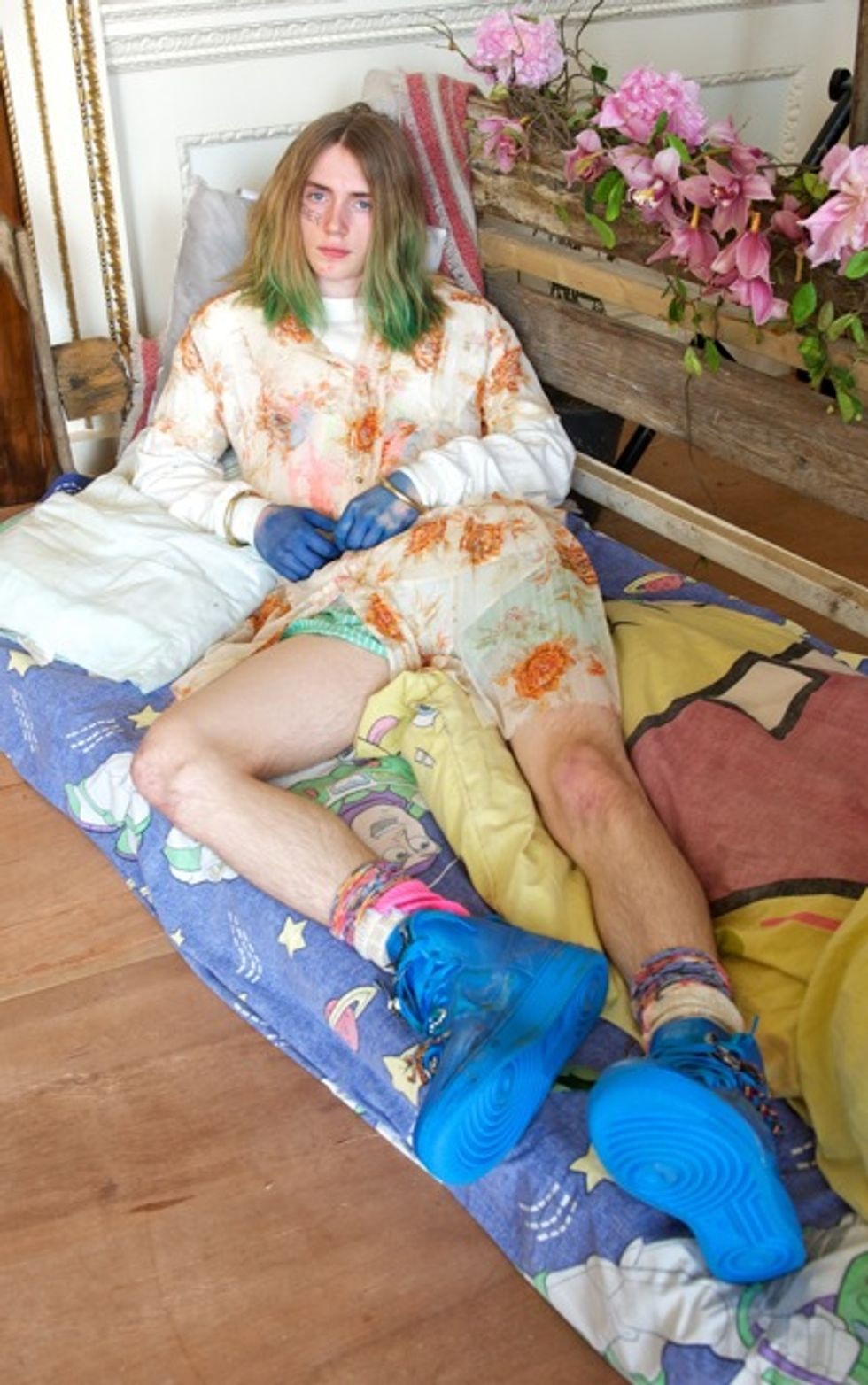 Meadham Kirchhoff Brought the Crazy (and the Pepto Bismol) to Their S/S '13 Menswear Collection