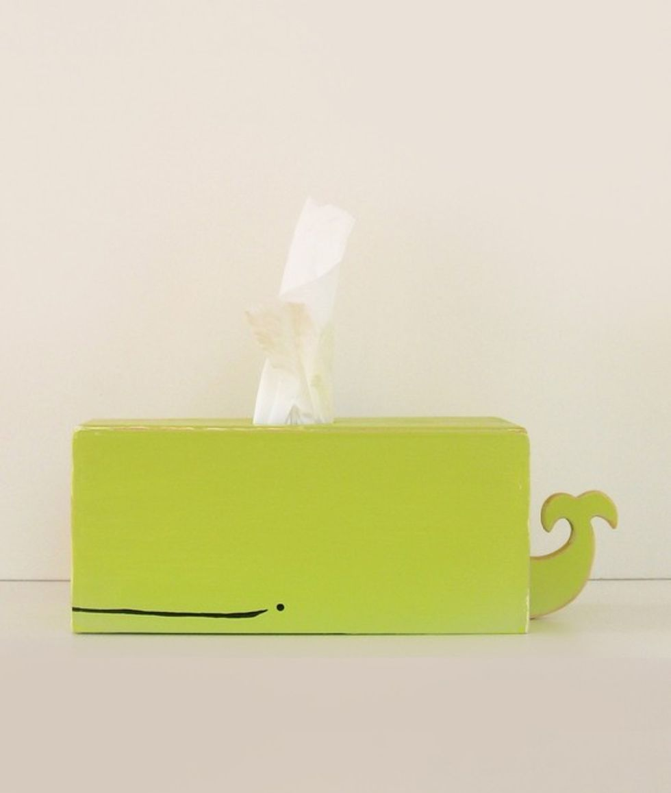 5 Under $50: A Whale Tissue Holder + A Cat Zine