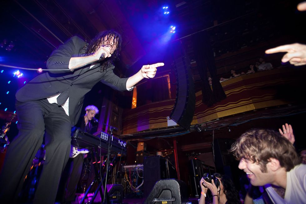 Scenes from the Liars Show at Webster Hall