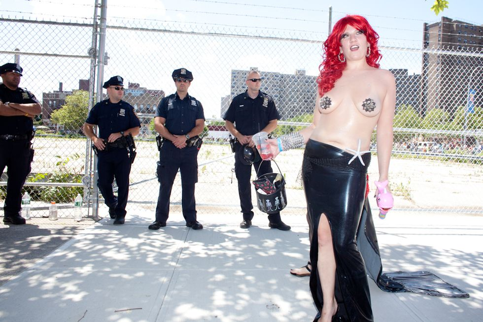 (NSFW) Photos from the 30th Annual Mermaid Parade
