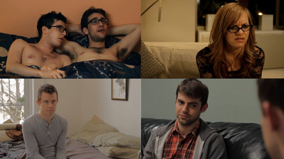 Adam Goldman, Creator of The Outs, Talks Girls, Grindr, and How He Created the Best Web Series Ever.