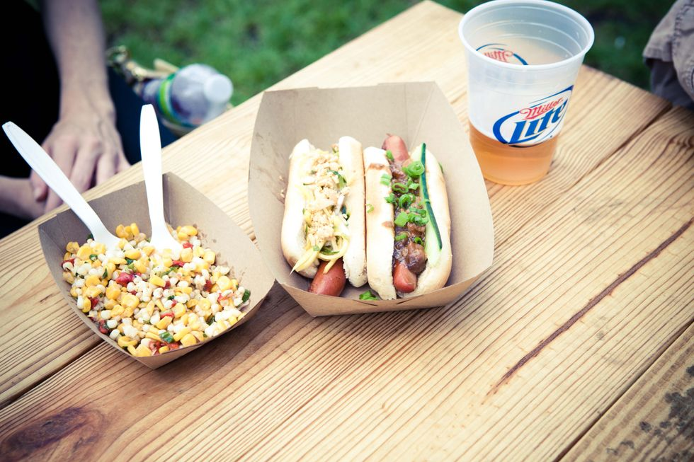 Food, Food and More Food From Governors Ball