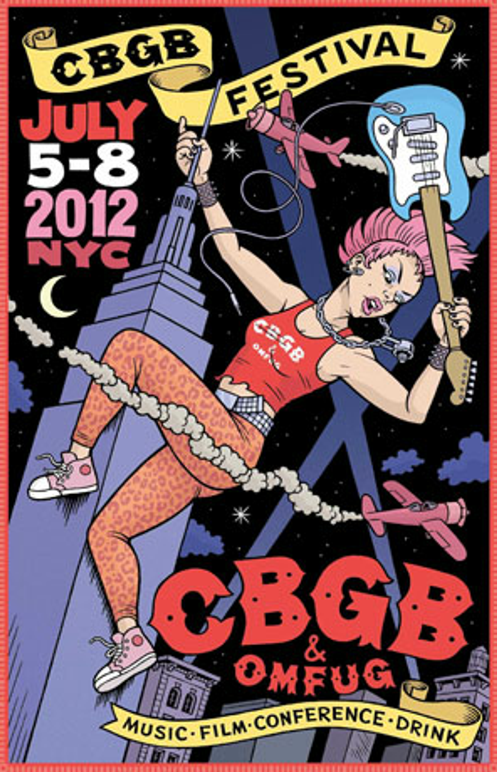 Tips for Today: CBGB Festival in NYC + Mates of State in L.A. + oOoOO in Chicago + Gossip in London