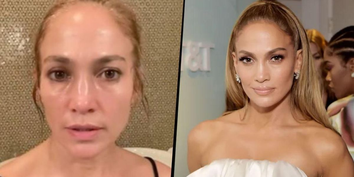 Jennifer Lopez Hits Back at a Fan Who Accused Her of Using Botox