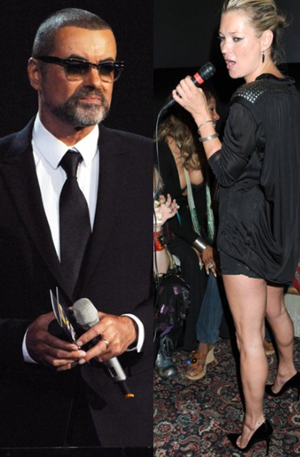 CFDA Teams Up With the Mets + Kate Moss Teams Up George Michael in Today's Style Scraps