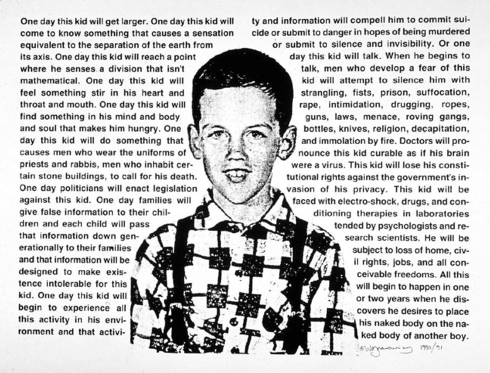 Author Cynthia Carr on Her New David Wojnarowicz Biography, Fire in the Belly