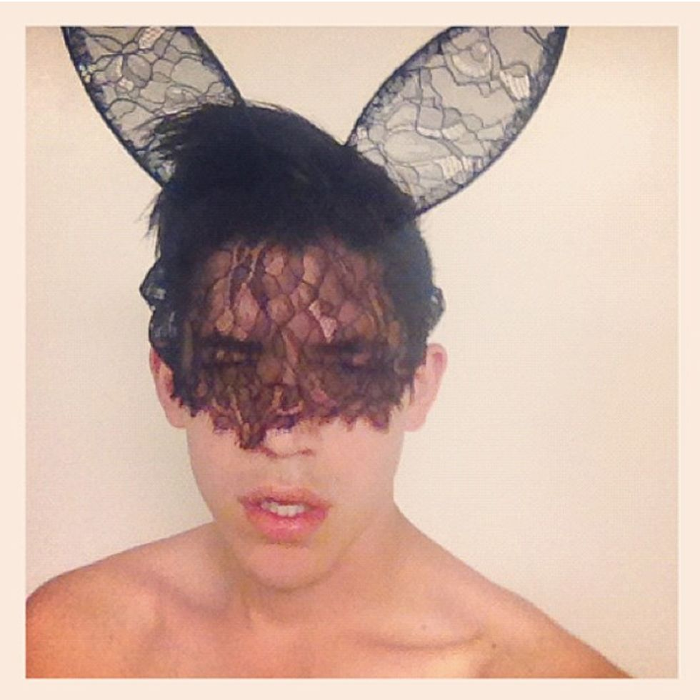 Vampire Fangs and Lace Bunny Ears, Our Favorite Entries From Our Crazy Outfit Instagram Challenge