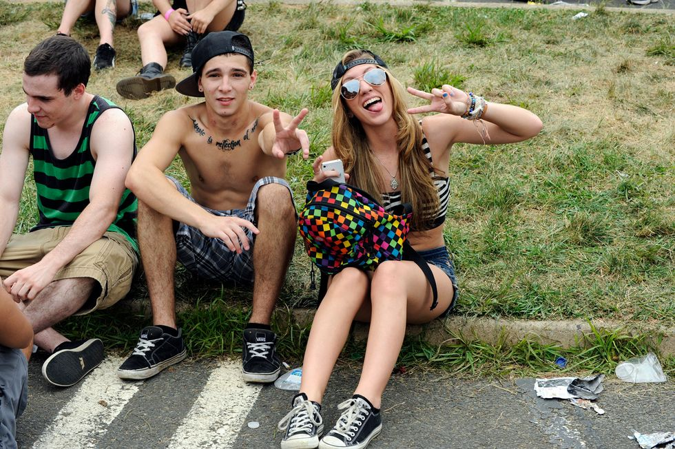 Scenes from the 2012 Warped Tour in Holmdel, New Jersey