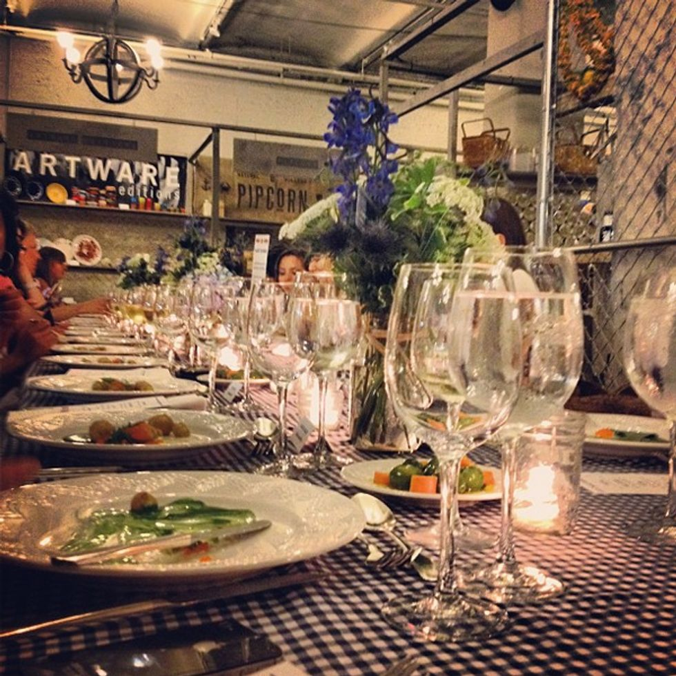 And the Winner of the TwEAT Dinner Instagram Contest Is...Bergdorf's!