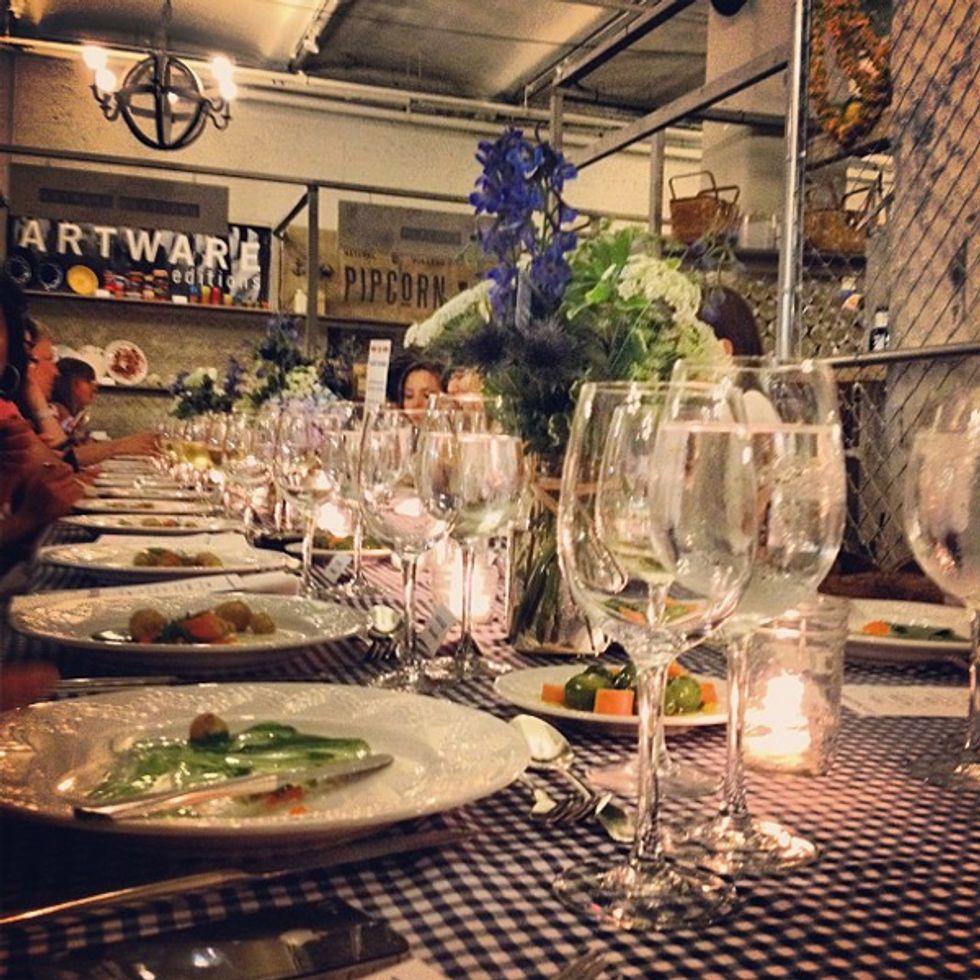 And the Winner of the TwEAT Dinner Instagram Contest Is...Bergdorf's!