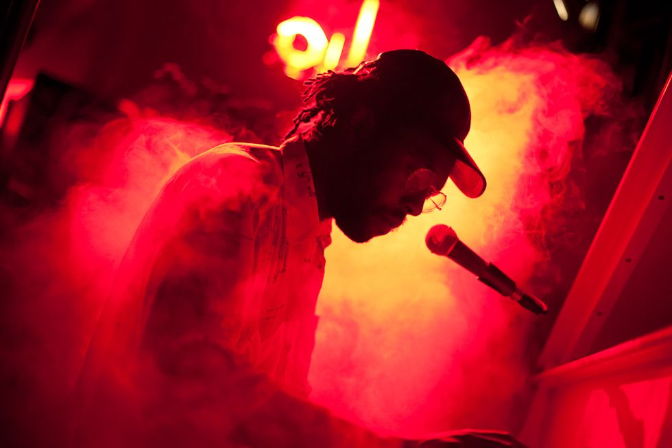 Dev Hynes and More at Suzanne Geiss Company's Blasting Voice