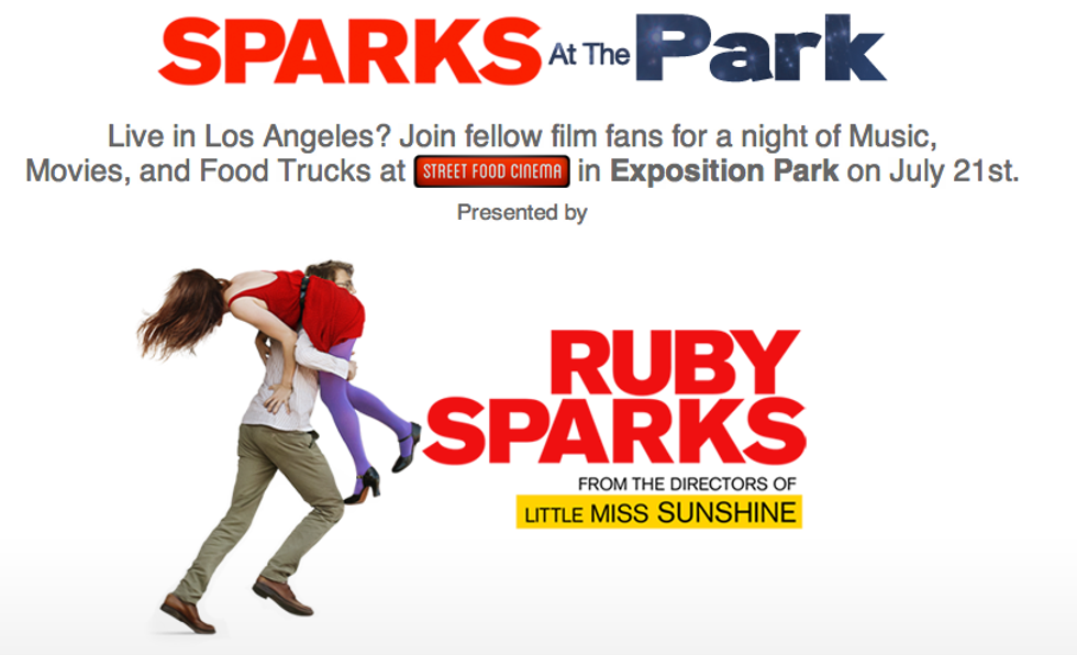 Win a Pair of VIP Tickets to Sparks at the Park Party in L.A. ft. Music, Movies and Food Trucks!